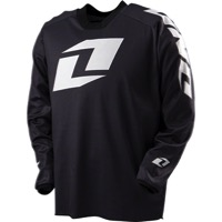 ONE Industries Atom Icon Long Sleeve Jersey - Black
