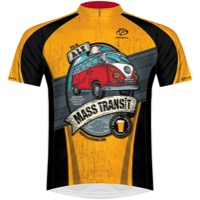 Primal Wear Bristol Brewing Mass Transit Jersey - Gold/Black