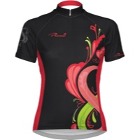 Primal Wear Women's Infiniti Cycling Jersey - Black/Red/Pink
