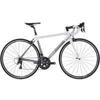 Foundry Chilkoot Titanium Road Complete Bike 2016 - Titanium/White