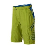 Royal Racing Stage2 Shorts - Lime Green/Navy
