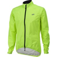Bellwether Men's Aqua-No Compact Jacket - Hi-Vis