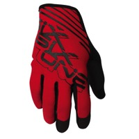 SixSixOne Raji Glaoves - Red/Black