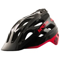 THE Industries Arcus Enduro Helmet - Black/Red