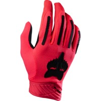 Fox Racing Demo Air Full Finger Gloves 2016 - Neo Red