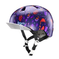 Bern Nina Helmet 2016 - Satin Purple Jungle