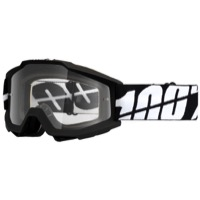 100% Accuri OTG Over The Glasses Goggles - Tornado/Clear Lens