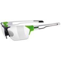 Uvex 202 Variomatic Sunglasses - Green/Black