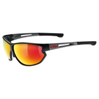 Uvex 810 Mir Sunglasses - Black/Carbon