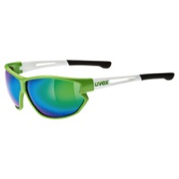 Uvex 810 Mir Sunglasses - Green/White