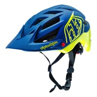 Troy Lee A1 Drone Helmet 2016 - Navy/Yellow