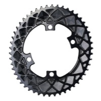 AbsoluteBlack Premium 2x 9000/6800 Oval Chainrings - 4 x 110mm Asym BCD