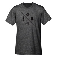 Mechanical Threads Cyclocross Life T-Shirt - Gray