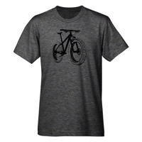 Mechanical Threads Fat Bike T-Shirt - Gray