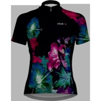 Primal Wear Mahalo Women's Cycling Jersey - Black/Blue/Pink