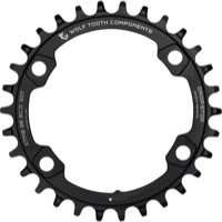 Wolf Tooth 96mm Drop-Stop Chainrings - Fits Shimano XT M8000