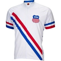 World Jerseys 1948 USA Olympic Men's Jersey - White/Red/Blue