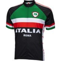 World Jerseys Italia Men's Jersey - Black