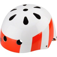 SixSixOne Dirt Lid Helmet - White/Orange