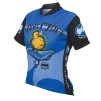World Jerseys Biker Chick Jersey - Blue