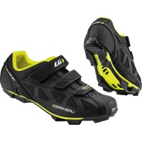 Louis Garneau Multi Air Flex Men's Cycling Shoe - Black/Bright Yellow