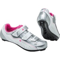 Louis Garneau Jade Cycling Shoe - White/Silver/Pink