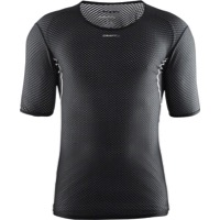 Craft Cool Mesh Superlight Short Sleeve Base Layer - Black