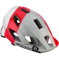 SixSixOne EVO AM MIPS Helmet - White/Red