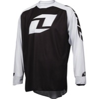 One Industries Vapor Lite Long Sleeve Jersey - Black/White