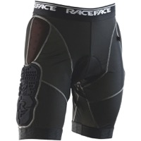 Race Face Flank Liner Shorts - Black