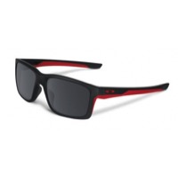 Oakley Mainlink Sunglasses - Matte Black/Black Iridium