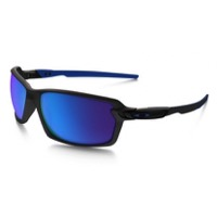 Oakley Carbon Shift Sunglasses - Matte Black/Sapphire Iridium