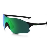 Oakley EVZero Path Polarized Sunglasses - Polished Black/Jade Iridium Polarized