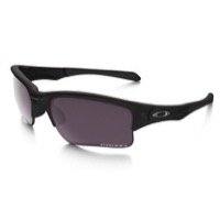 Oakley Quarter Jacket Prizm Polarized Sunglasses - Matte Black/Prizm Daily Polarized