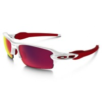Oakley Flak 2.0 Prizm Sunglasses - Polished White/Prizm Road
