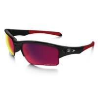 Oakley Quarter Jacket Prizm Youth Sunglasses - Polished Black/Prizm Road