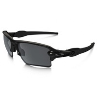 Oakley Flak 2.0 XL Sunglasses - Polished Black/Black Iridium
