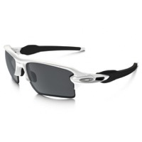 Oakley Flak 2.0 XL Sunglasses - Polished White/Black Iridium