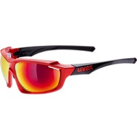 Uvex 710 Sportstyle Sunglasses - Red/Black