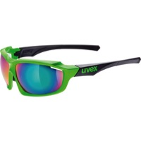 Uvex 710 Sportstyle Sunglasses - Green/Black