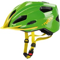 Uvex Quatro Junior Helmet - Green/Yellow