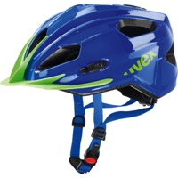 Uvex Quatro Junior Helmet - Blue/Green
