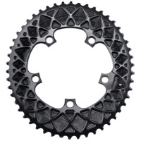 AbsoluteBlack Premium 2x SRAM Oval Chainrings - Hidden Bolt 5 x 110mm BCD