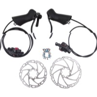 Gevenalle CXH Shifter/Hydraulic Disc Brake Set - 2/3 x 10 Speed