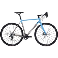 Foundry Flyover Force 1 Ti Complete Bike 2016 - Sky Blue/Brushed Ti