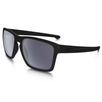 Oakley Sliver XL Polarized Sunglasses - Matte Black/Gray Polarized Lens