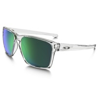 Oakley Sliver XL Sunglasses - Polished Clear/Jade Iridium Lens