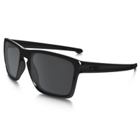Oakley Sliver XL Sunglasses - Polished Black/Black Iridium Lens