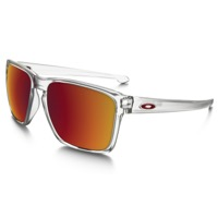 Oakley Sliver XL Sunglasses - Matte Clear/Torch Iridium Lens