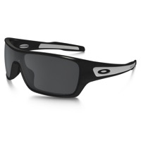 Oakley Turbine Rotor Polarized Sunglasses - Granite/Black Iridium Polarized Lens